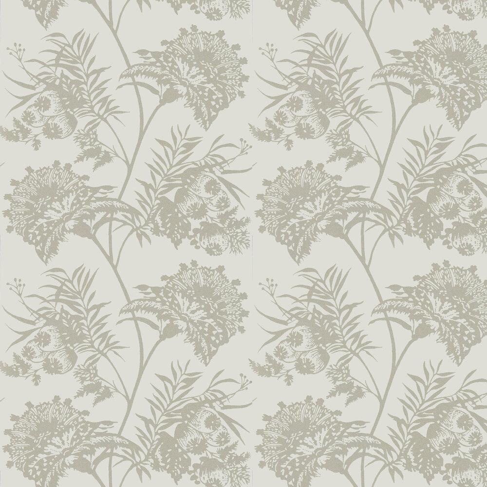 Bavero Shimmer Wallpaper - Linen - by Harlequin