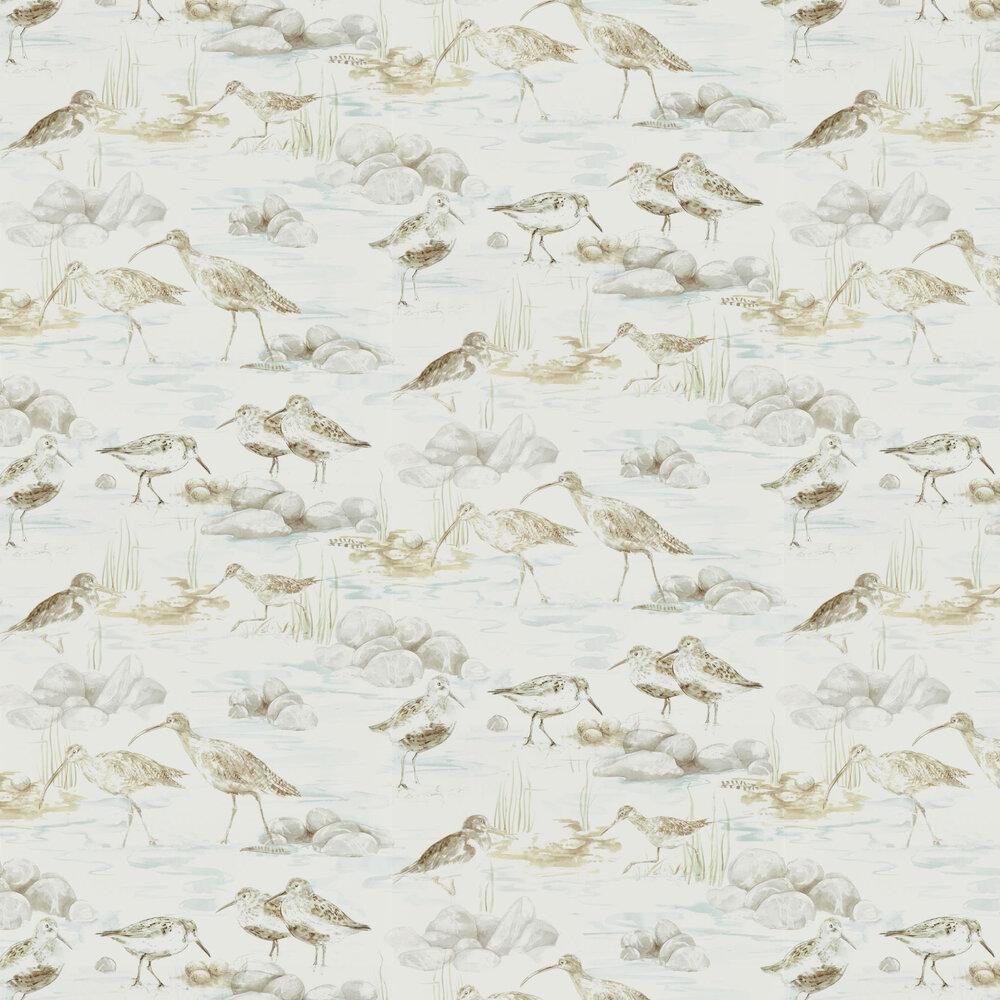 Sanderson Estuary Birds Mist / Ivory Wallpaper - Product code: 216494