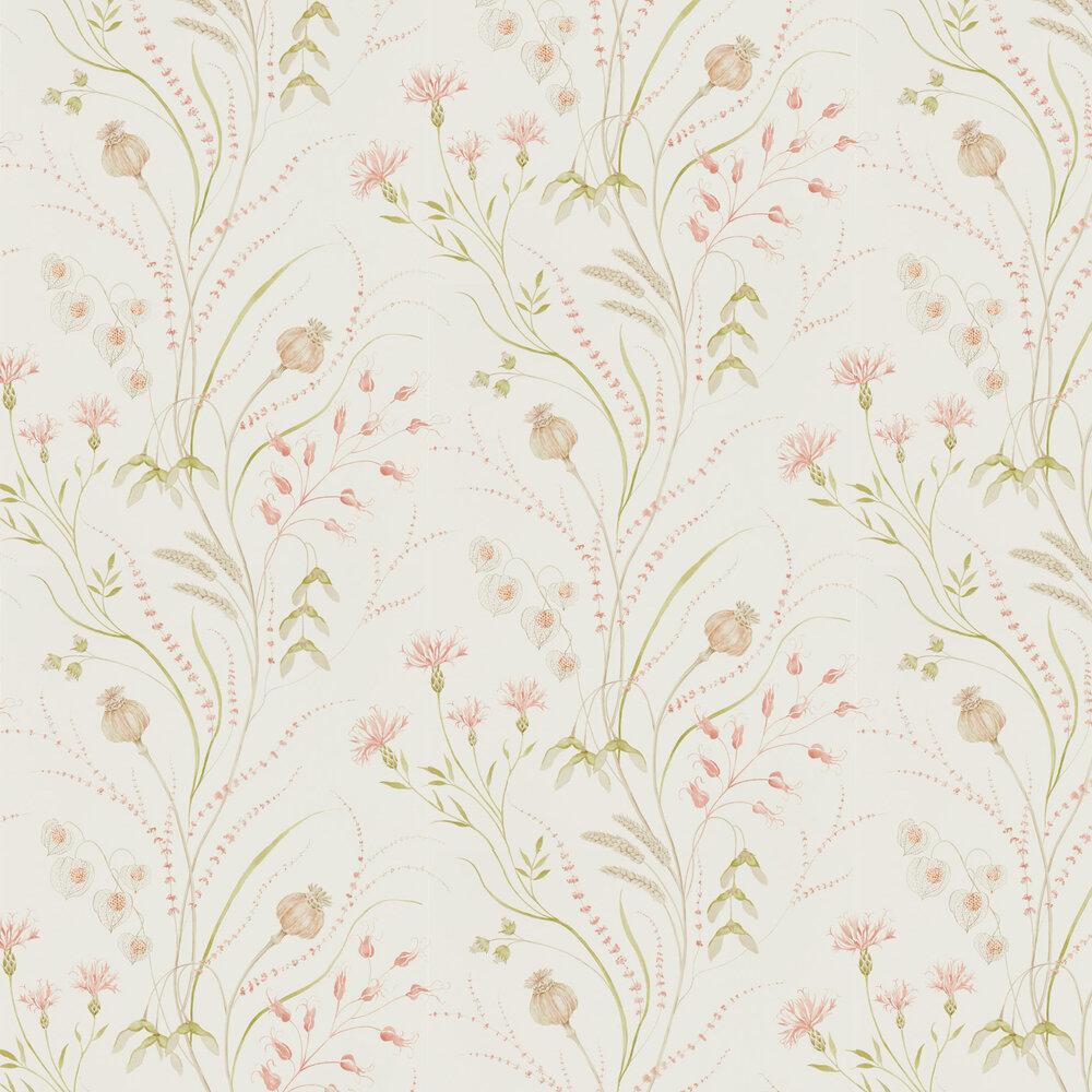 Sanderson Summer Harvest Claret / Olive Wallpaper - Product code: 216495