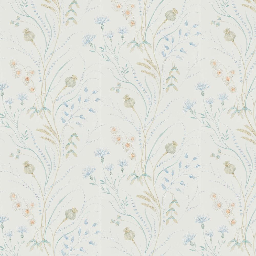 Sanderson Summer Harvest Cornflower / Wheat Wallpaper - Product code: 216496
