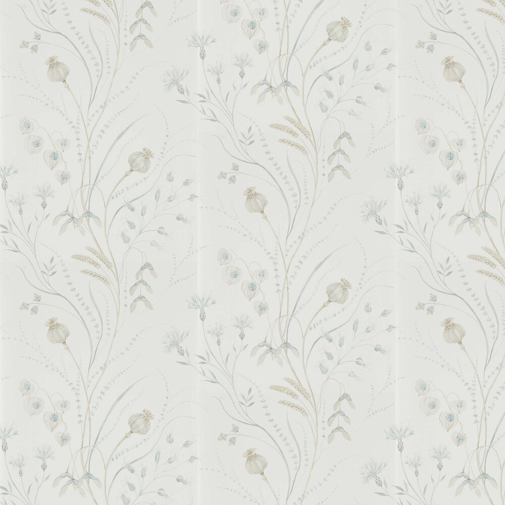 Sanderson Summer Harvest Silver / Chalk Wallpaper - Product code: 216498