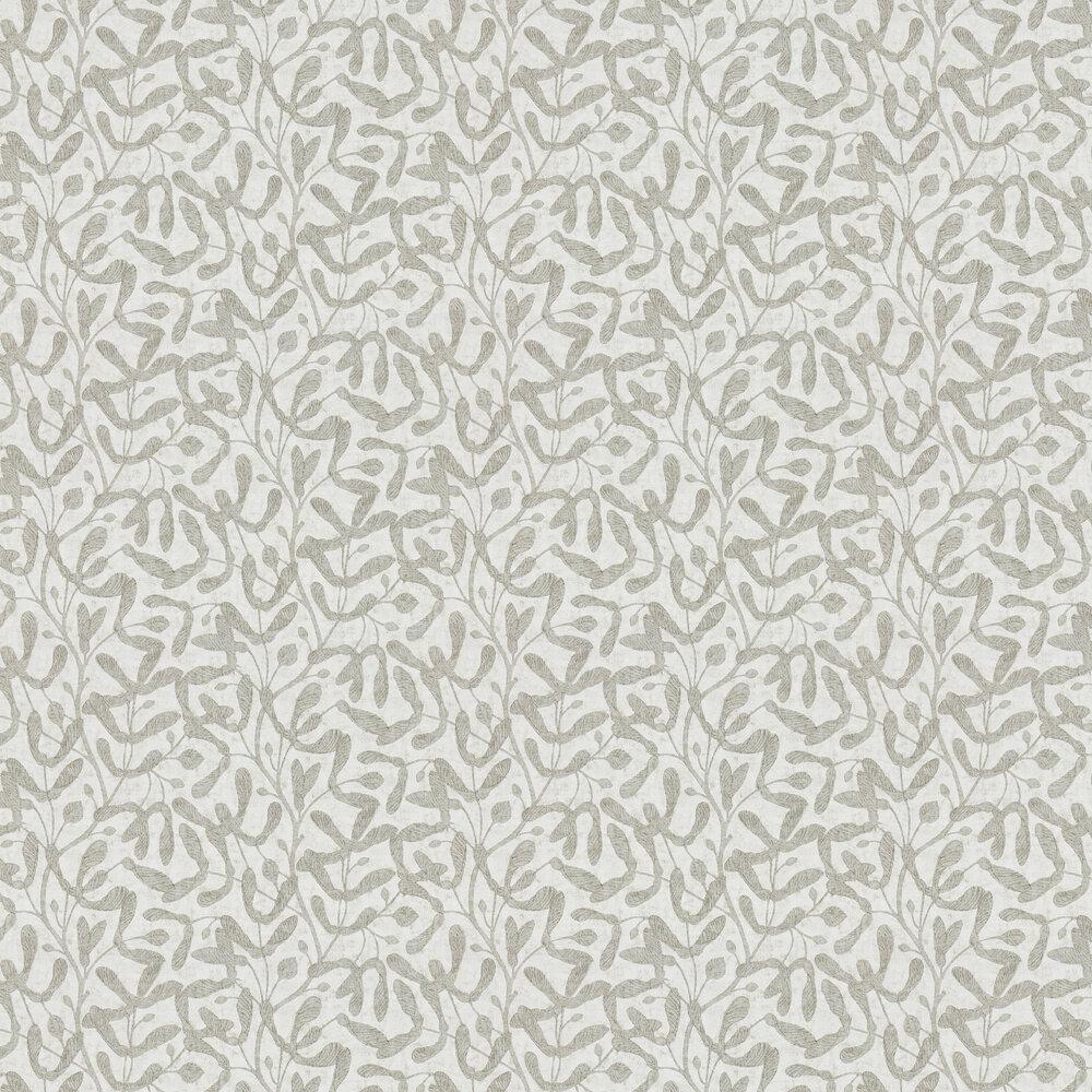 Sycamore Trail Wallpaper - Silver - by Sanderson