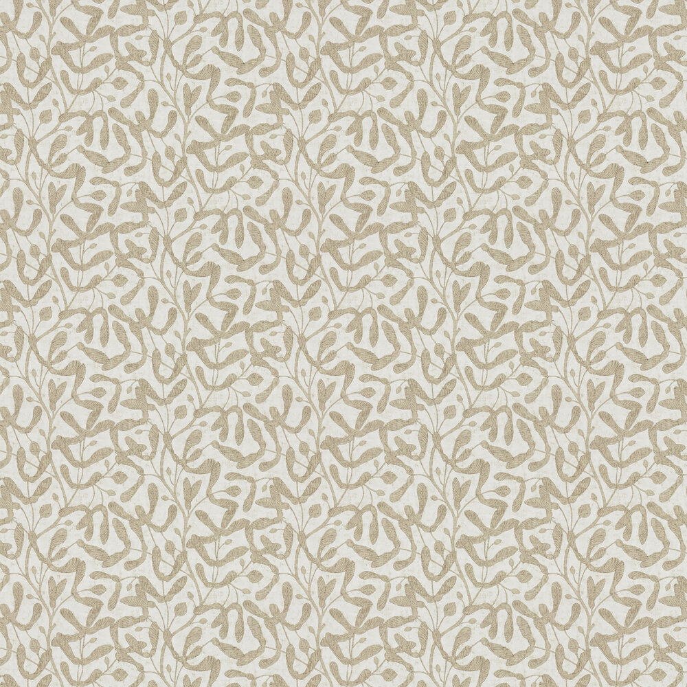 Sycamore Trail Wallpaper - Gold - by Sanderson