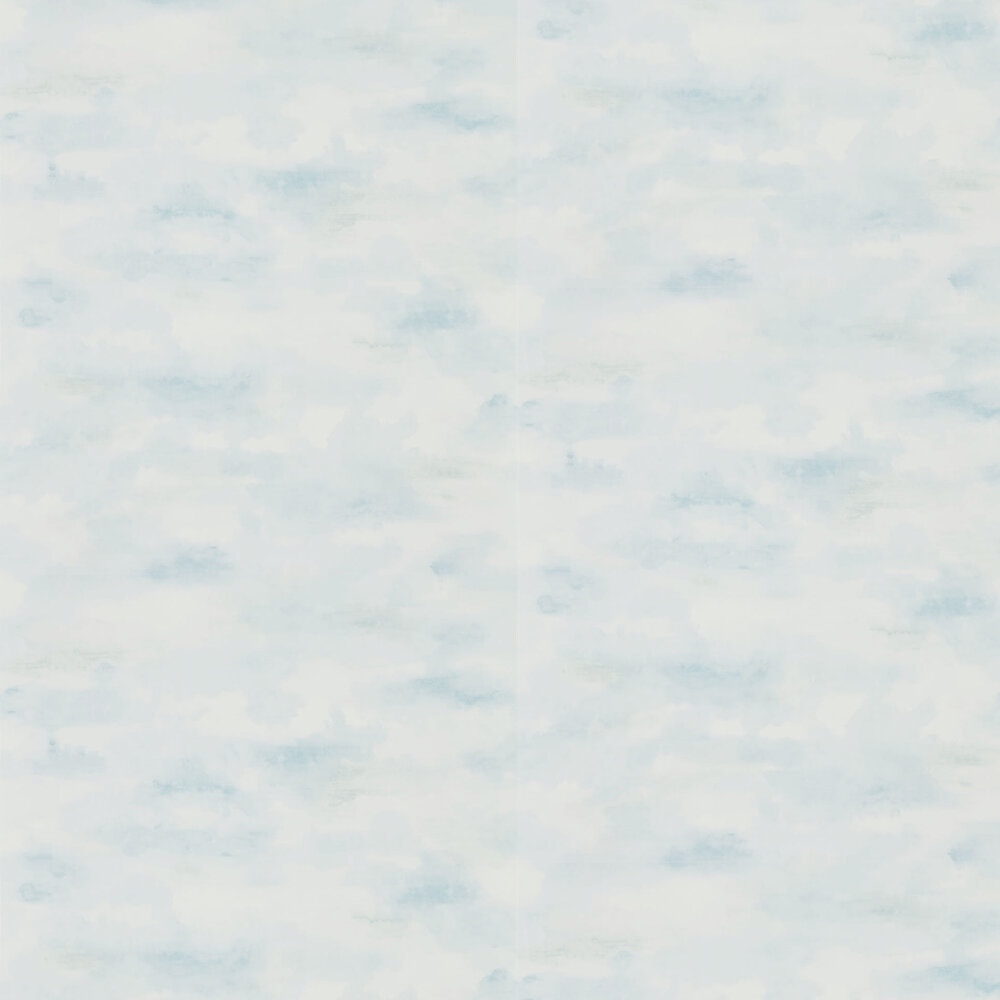 Sanderson Bamburgh Sky Mist Blue Wallpaper - Product code: 216516