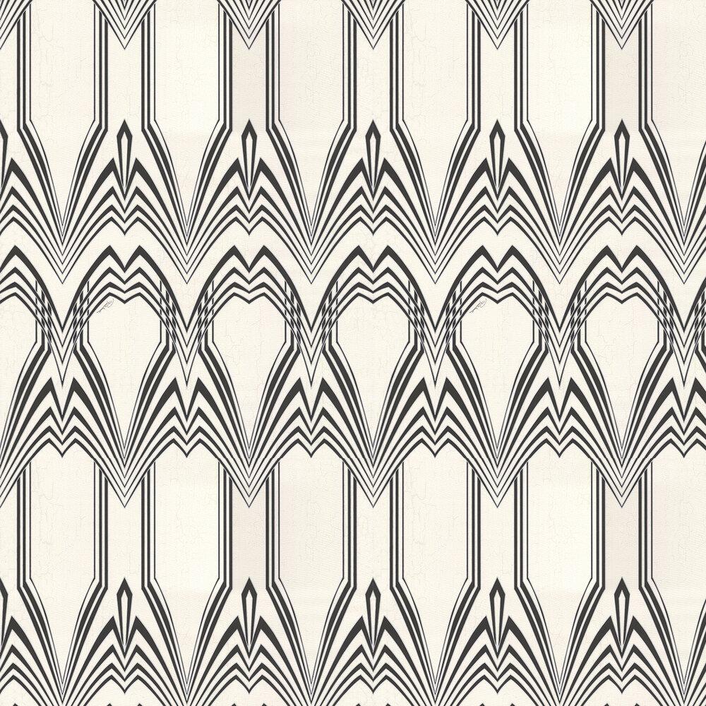 Roberto Cavalli Deco Cream / Black Wallpaper - Product code: 16008