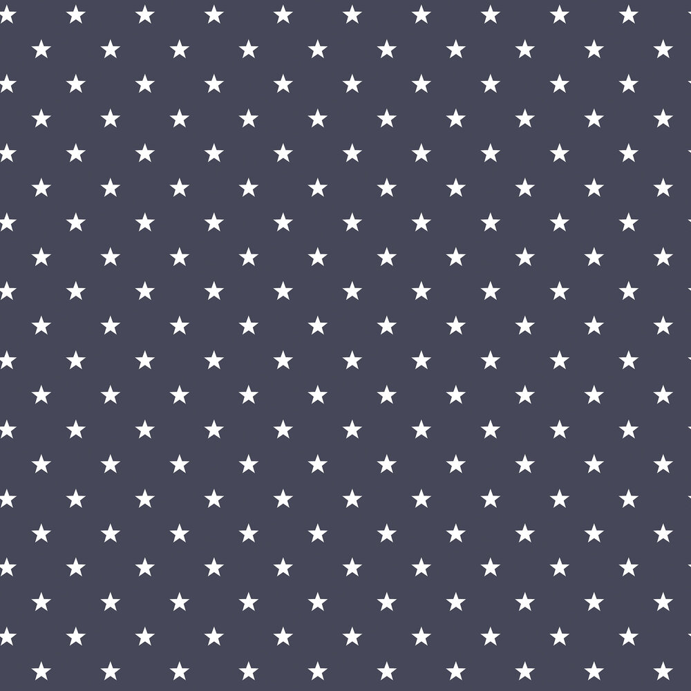Stars Wallpaper - Navy - by Galerie