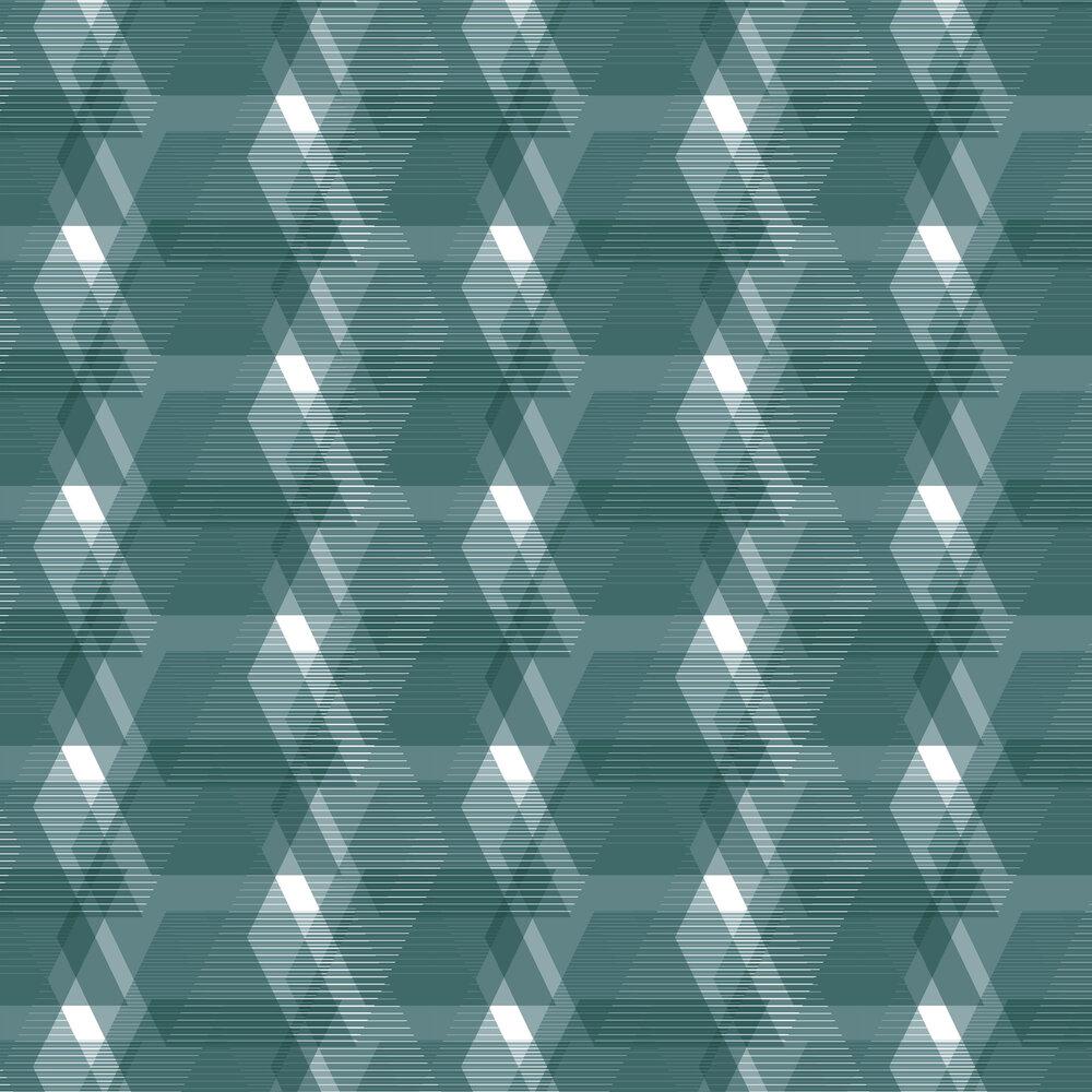Leigh Bagley Berwick Blue Wallpaper - Product code: LB-B394