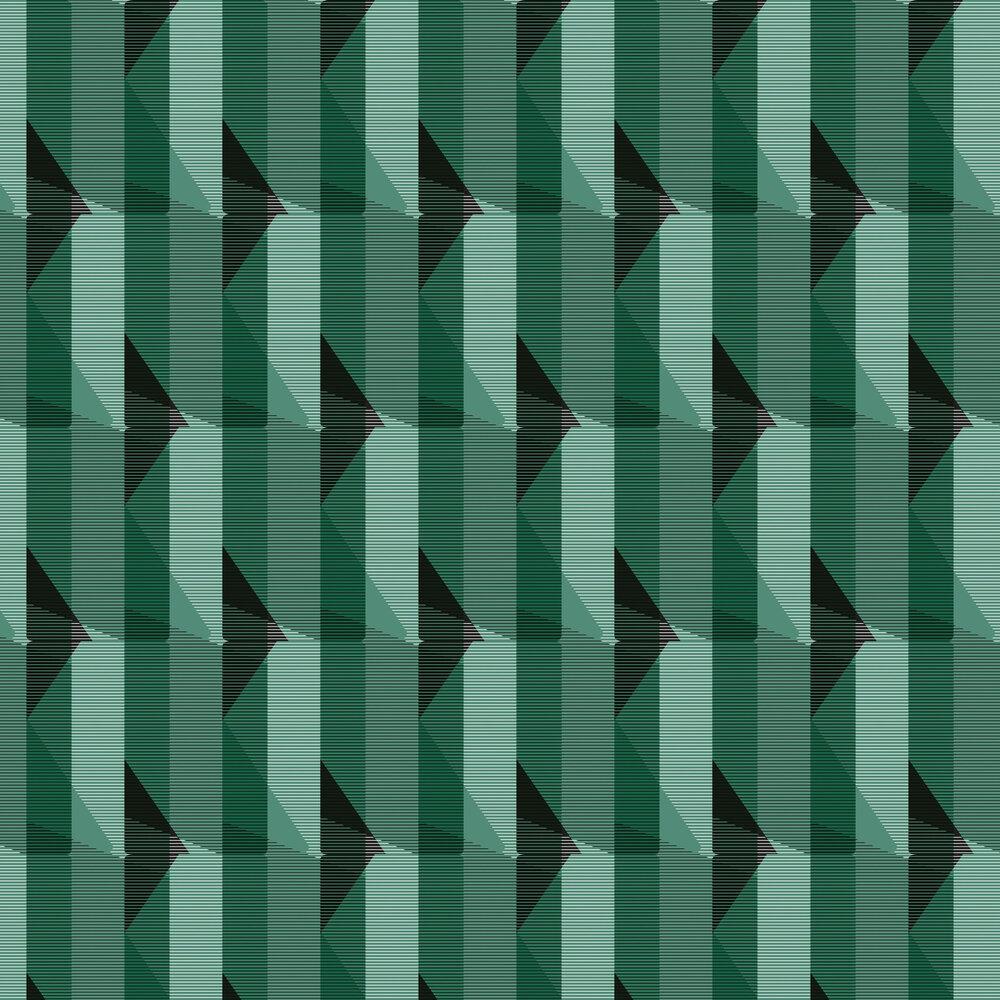 Leigh Bagley Elcho Green Wallpaper - Product code: LB-E389