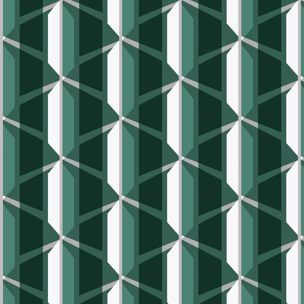 Leigh Bagley Gosford Green Wallpaper - Product code: LB-G392