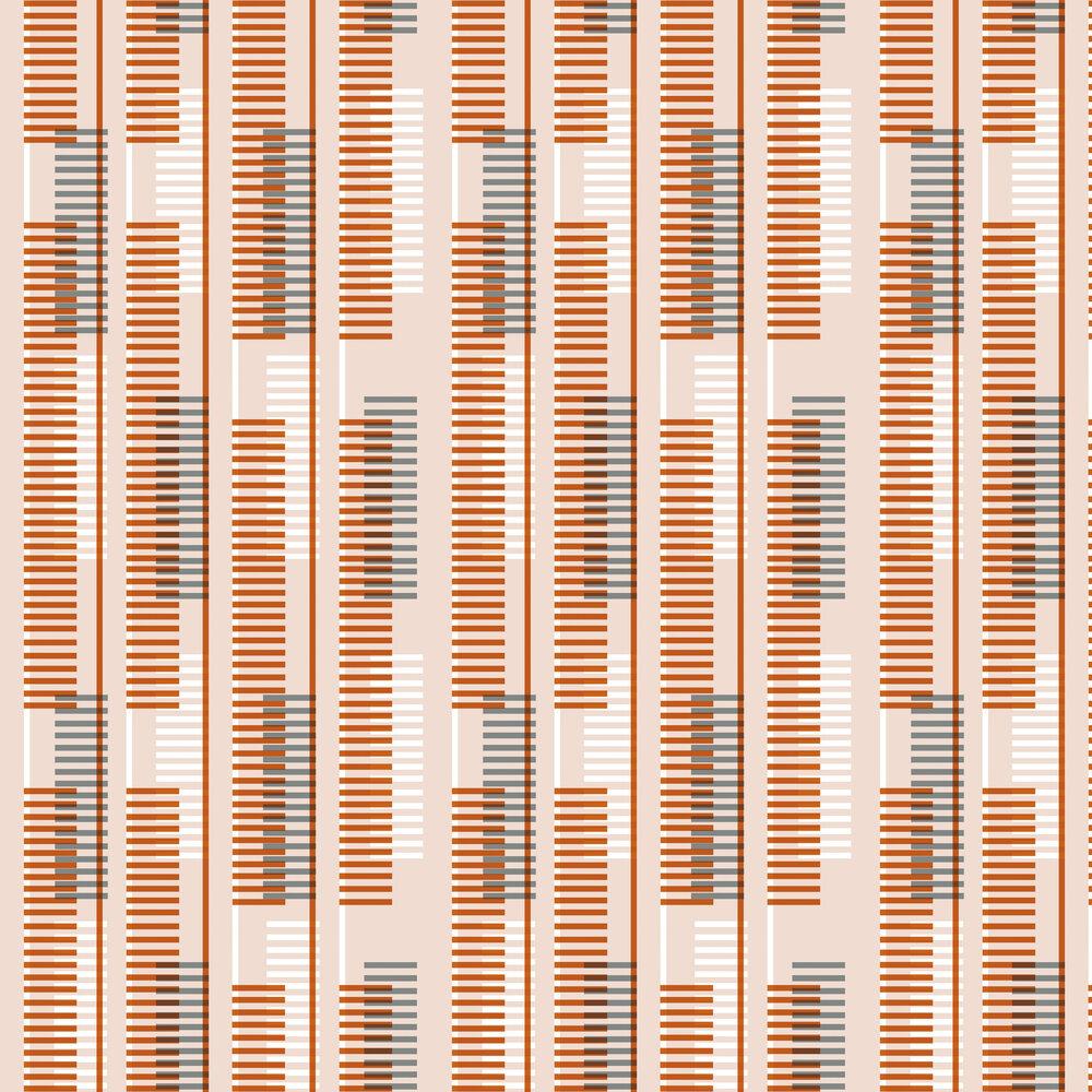 Leigh Bagley Lyars Orange Wallpaper - Product code: LB-L390