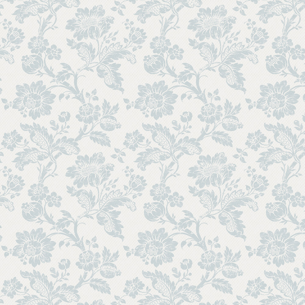 Elizabeth Ockford Elterwater Seafoam / White Wallpaper - Product code: WP0110202