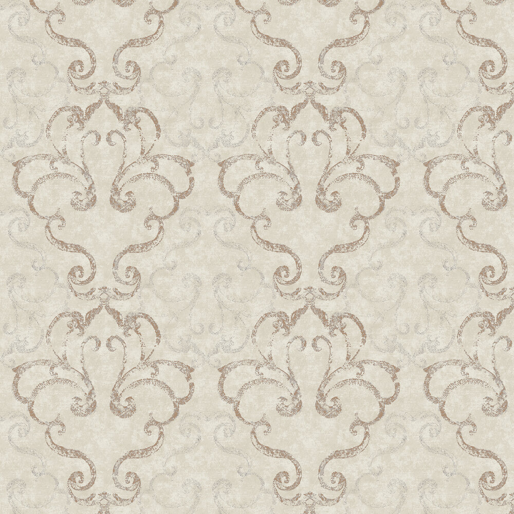 Elizabeth Ockford Ravenglass Taupe Wallpaper - Product code: WP0110401