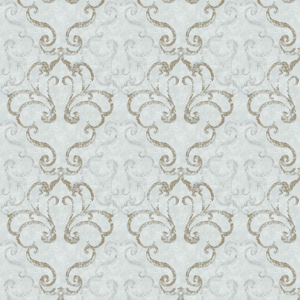 Elizabeth Ockford Ravenglass Blue Wallpaper - Product code: WP0110402
