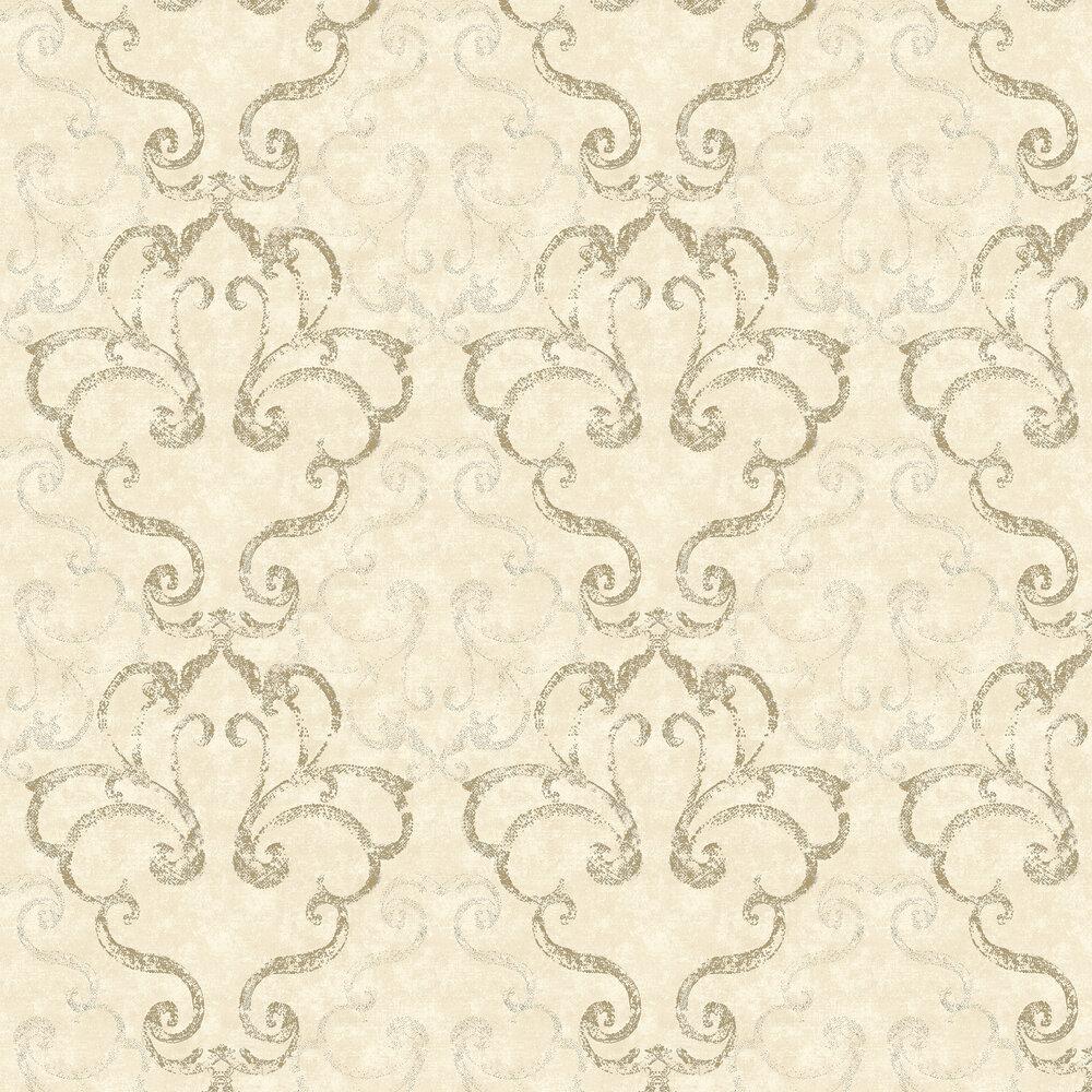 Elizabeth Ockford Ravenglass Cream Wallpaper - Product code: WP0110403