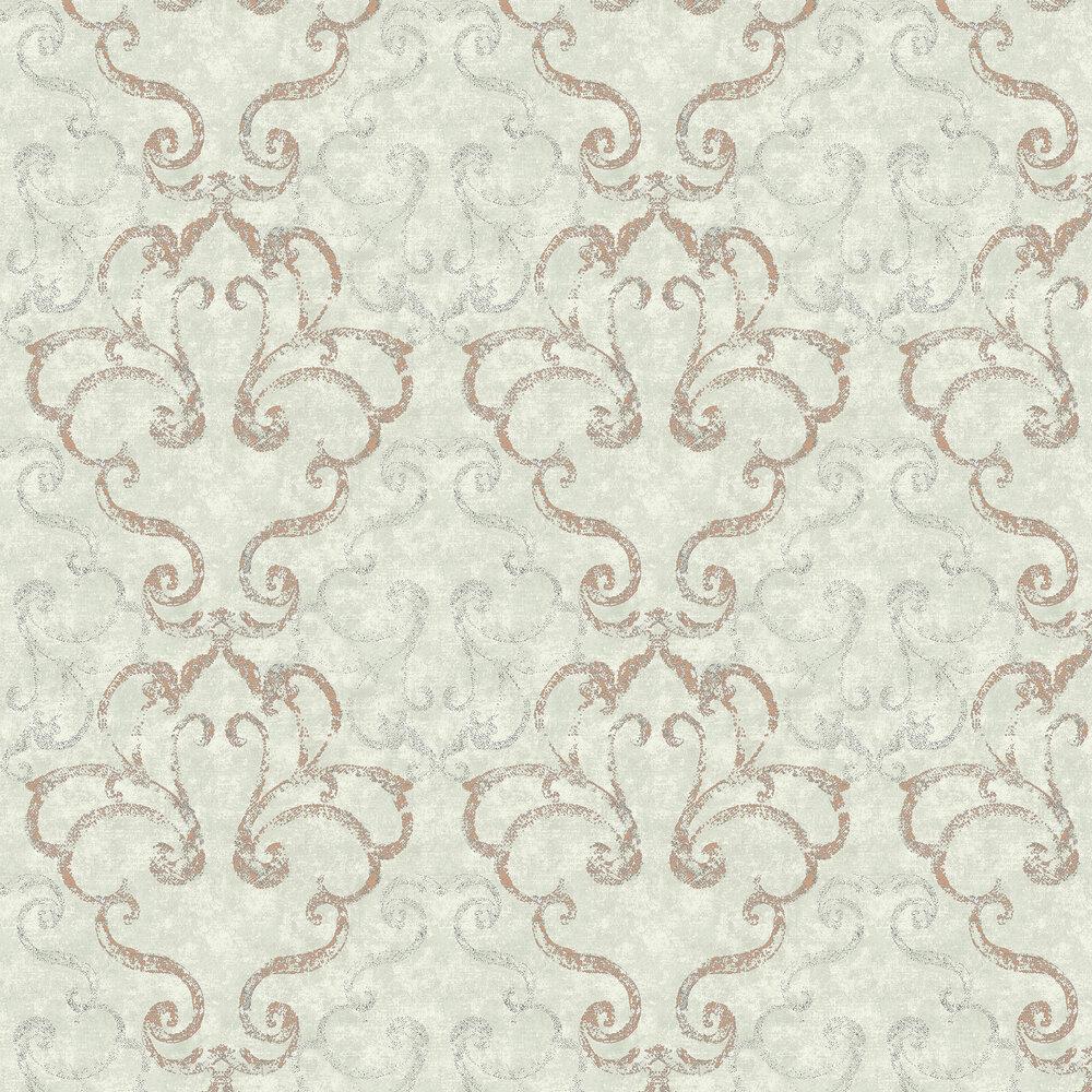 Elizabeth Ockford Ravenglass Green Wallpaper - Product code: WP0110404