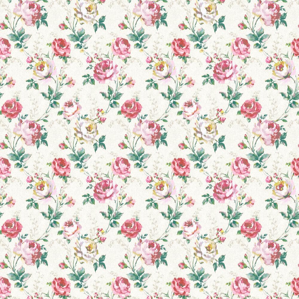 Elizabeth Ockford Ambleside Cream Wallpaper - Product code: WP0110901