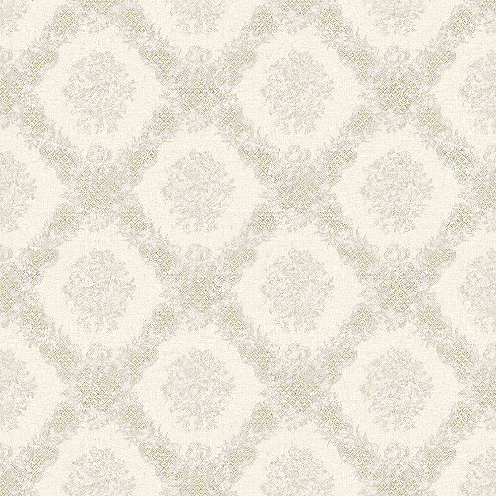 Elizabeth Ockford Rose Castle Cream Wallpaper - Product code: WP0111101