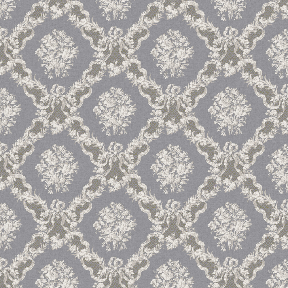 The Paper Partnership Rose Castle Black Wallpaper - Product code: WP0111102