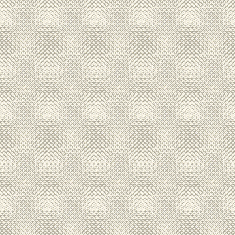 Elizabeth Ockford Cartmel Dark Cream / Aqua Wallpaper - Product code: WP0111203