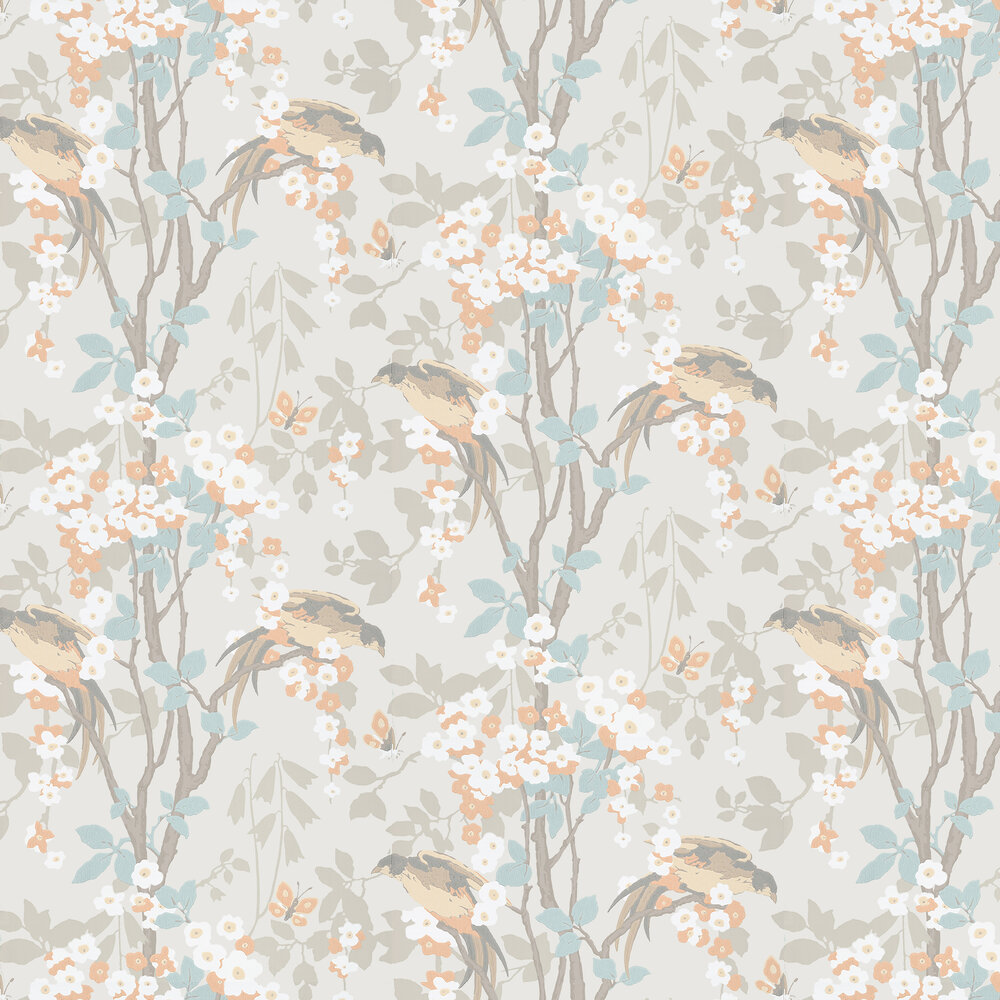 Loriini Wallpaper - Tuscany - by Little Greene