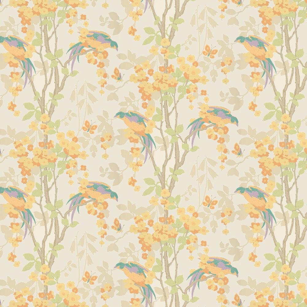 Loriini Wallpaper - Nouveau - by Little Greene