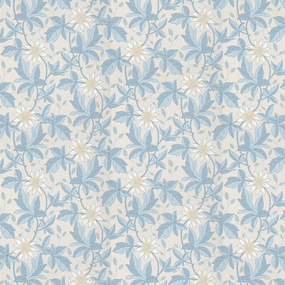 Monroe Wallpaper - Dawn Flower - by Little Greene