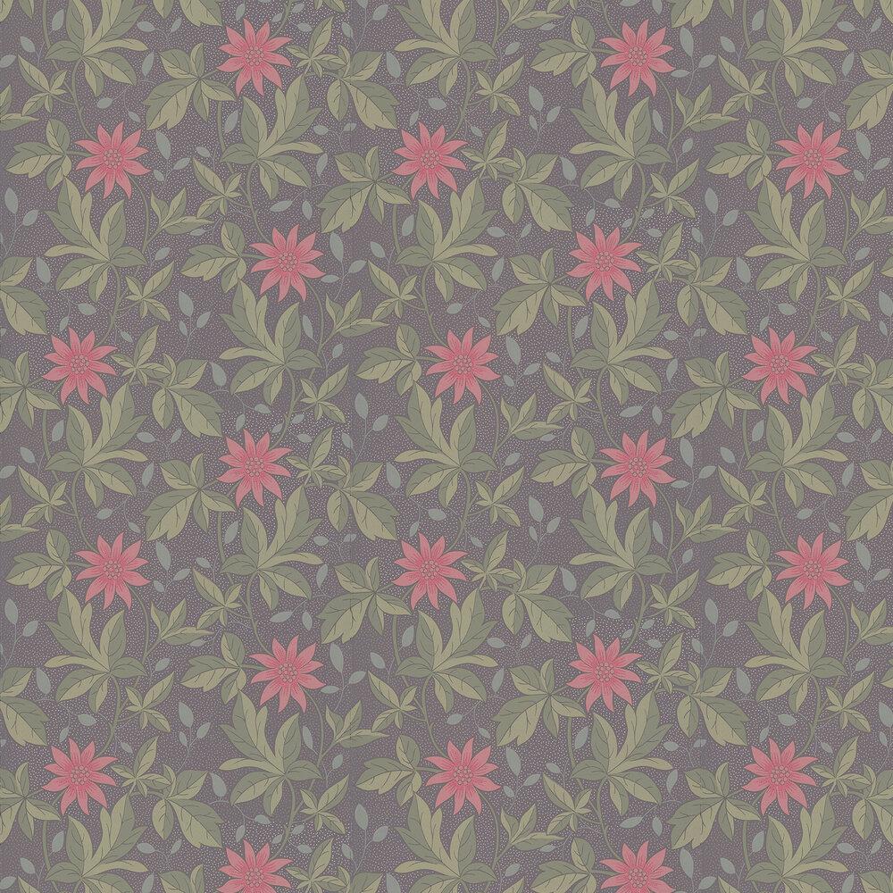 Little Greene Monroe Pink Flower Wallpaper - Product code: 0291MOPINKZ