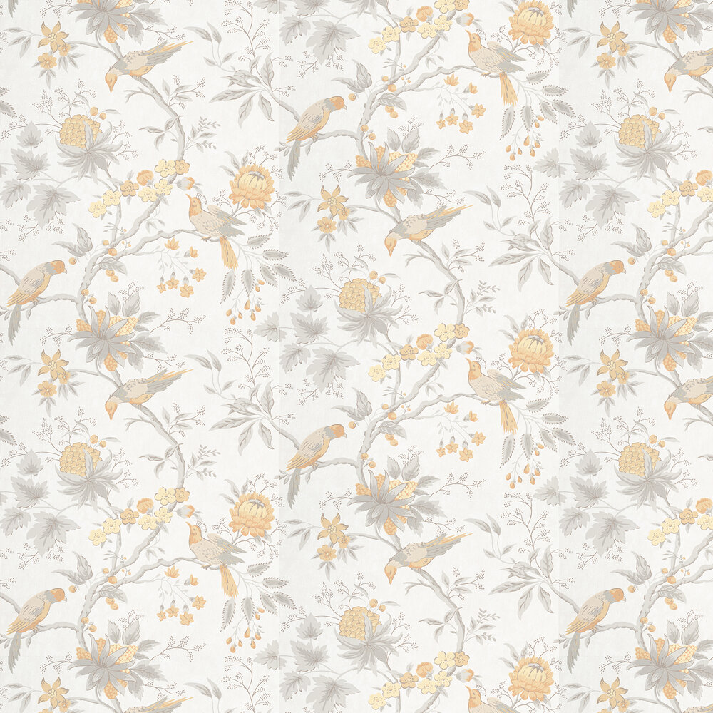 Brooke House Wallpaper - Cinder - by Little Greene