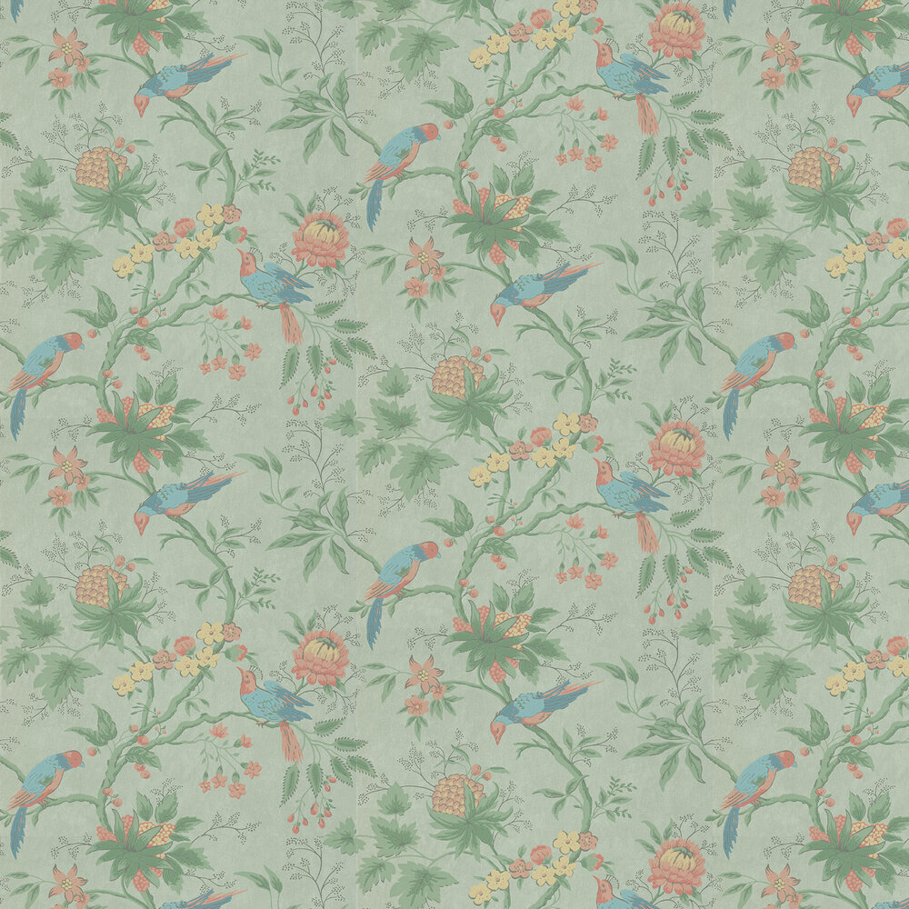 Little Greene Brooke House Silk Wallpaper - Product code: 0291BRSILKZ