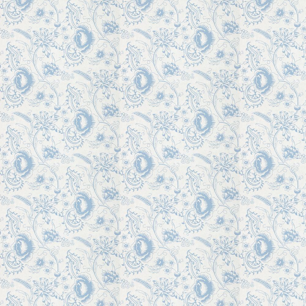Little Greene Woodblock Mono Juniper Wallpaper - Product code: 0291WOJUNIP