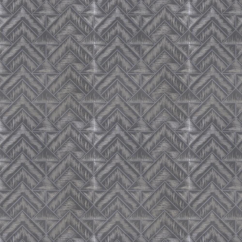 Mandora Wallpaper - Slate - by Designers Guild