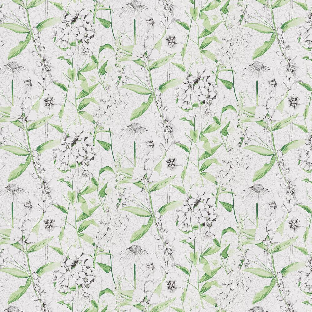 Emilie Wallpaper - Emerald - by Designers Guild