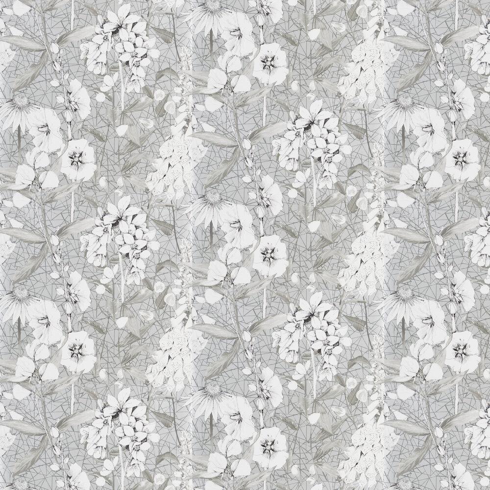 Emilie Wallpaper - Silver - by Designers Guild