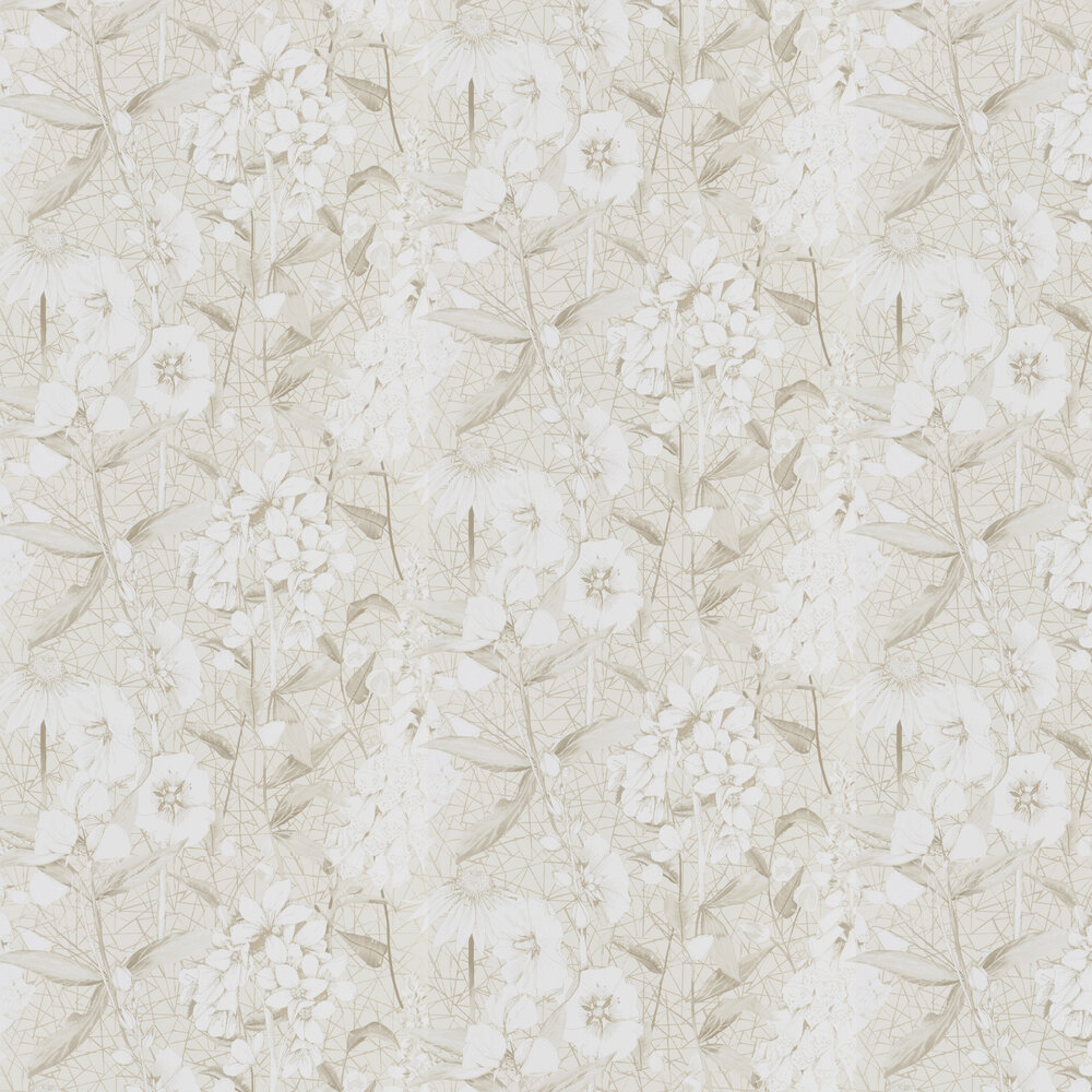 Emilie Wallpaper - Vanilla - by Designers Guild