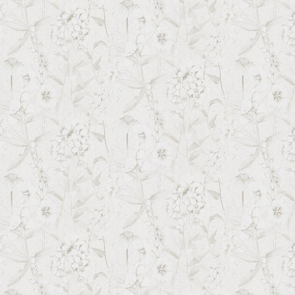 Emilie Wallpaper - Ivory - by Designers Guild