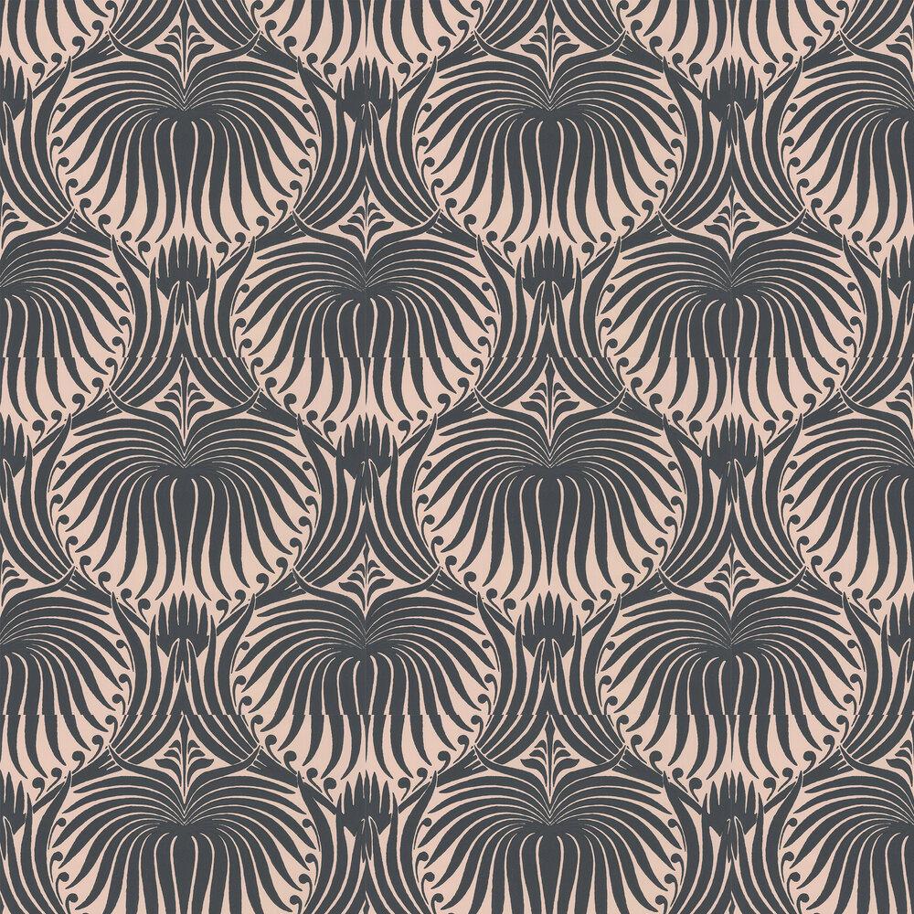 Lotus Wallpaper - Setting Plaster - by Farrow & Ball