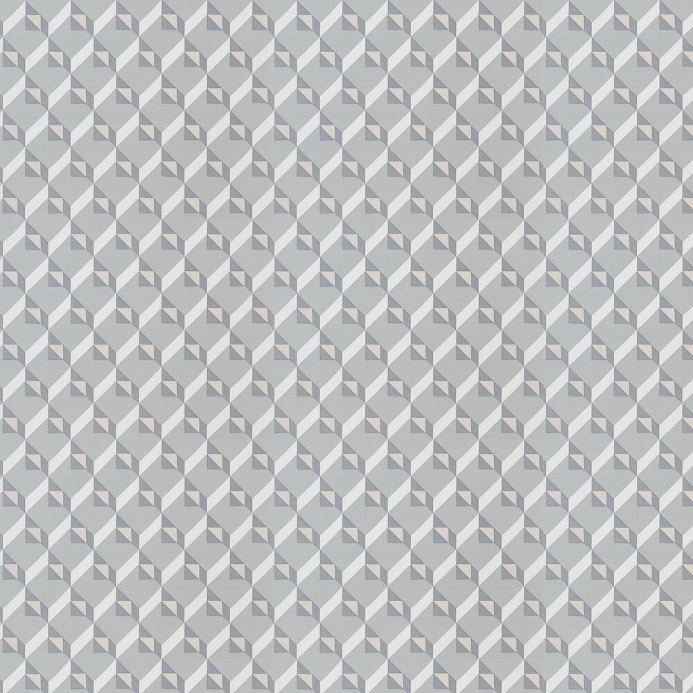 Dufrene Wallpaper - Zinc Blue - by Designers Guild