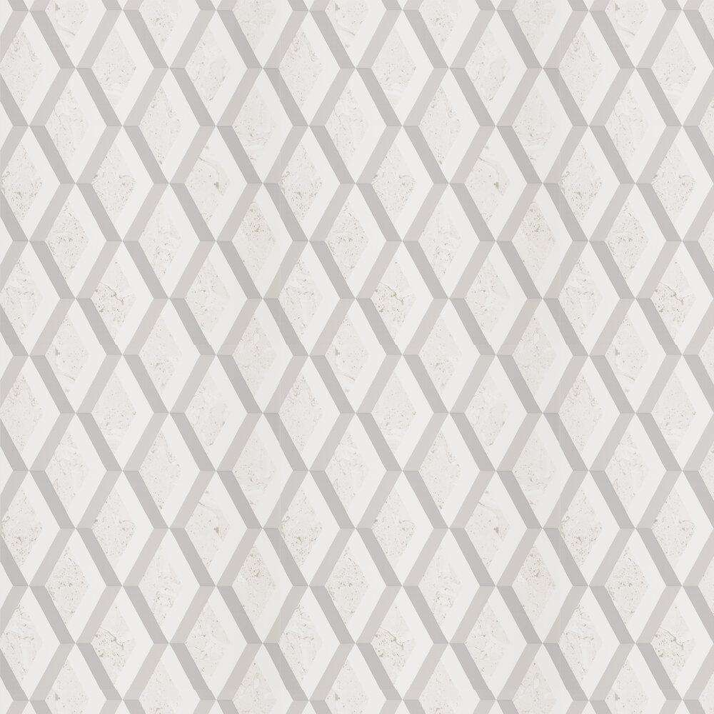Jourdain Wallpaper - Steel - by Designers Guild