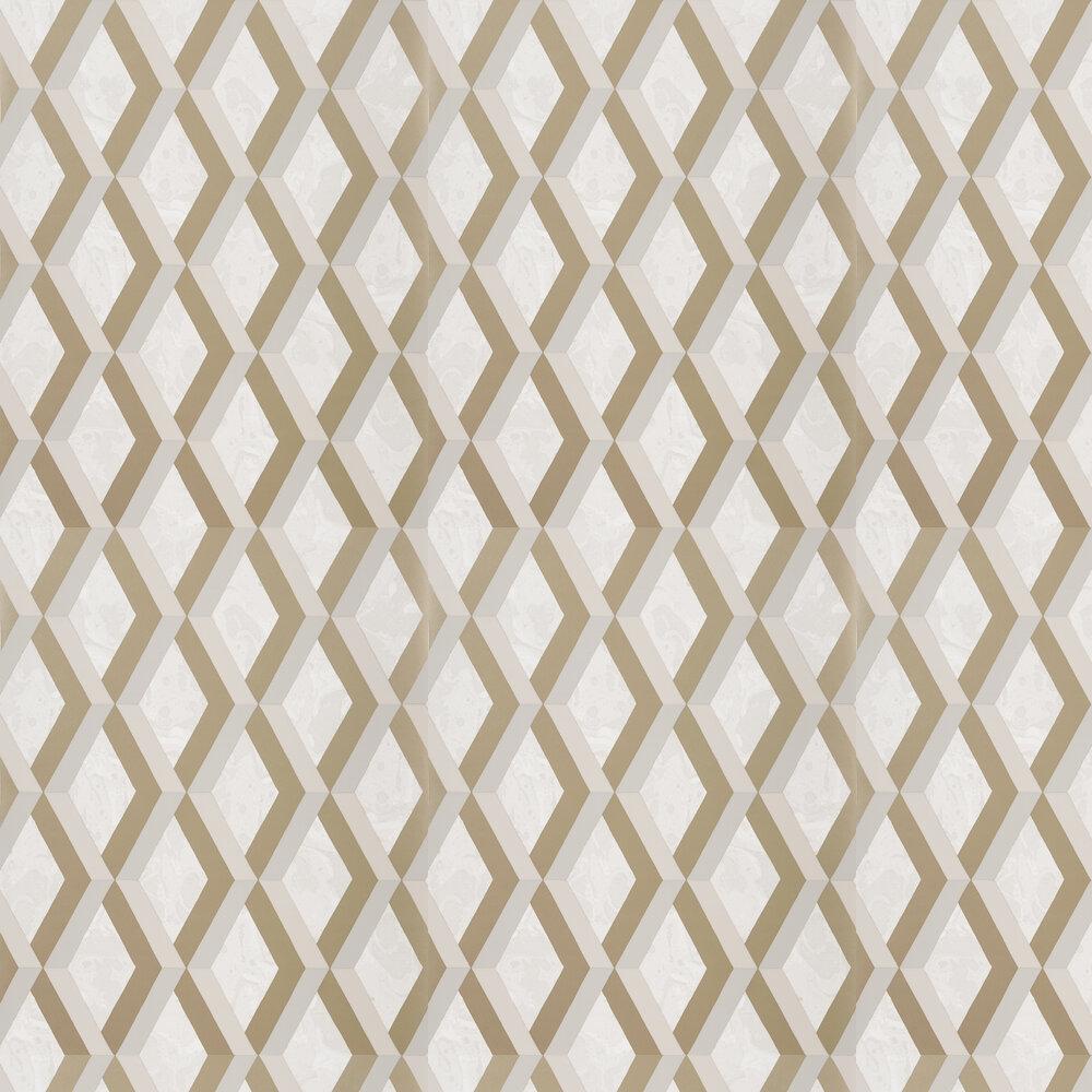 Jourdain Wallpaper - Linen - by Designers Guild
