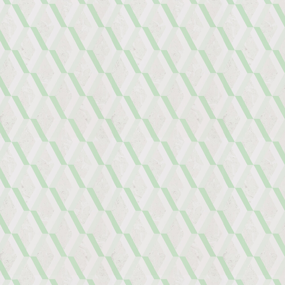 Jourdain Wallpaper - Jade - by Designers Guild