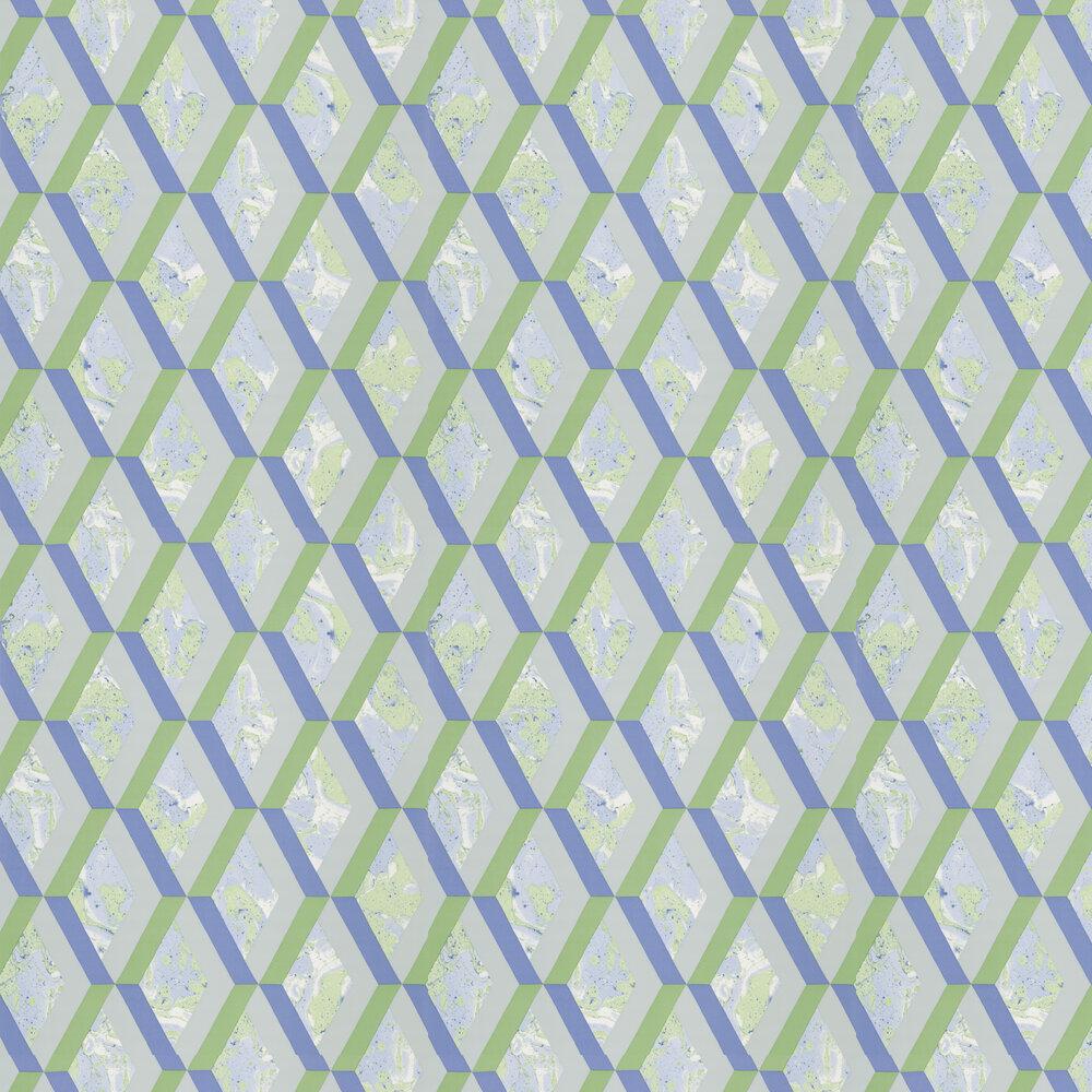Jourdain Wallpaper - Cobalt - by Designers Guild