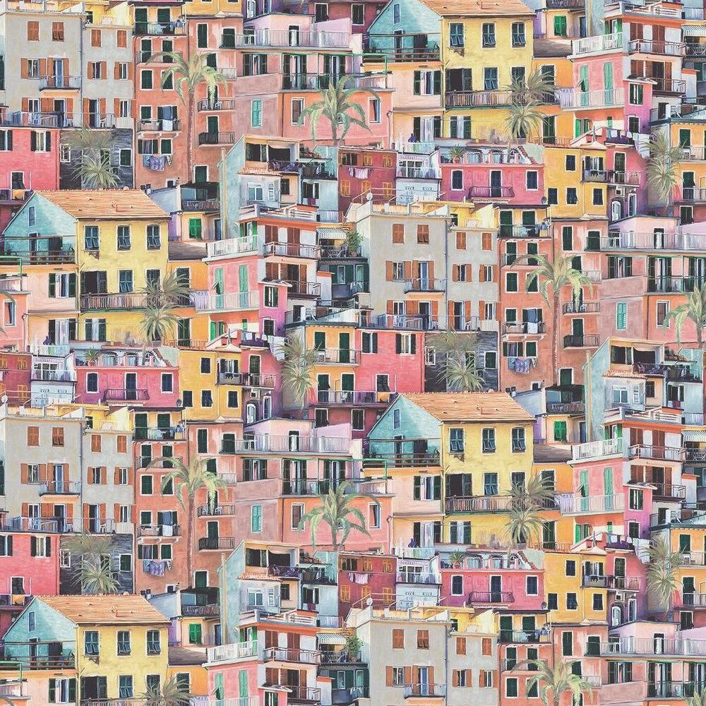Portovenere Wallpaper - Multi-coloured - by Osborne & Little