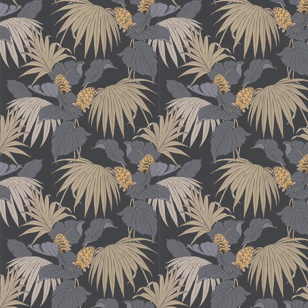 Osborne & Little Vernazza Grey / Gold Wallpaper - Product code: W7217-05