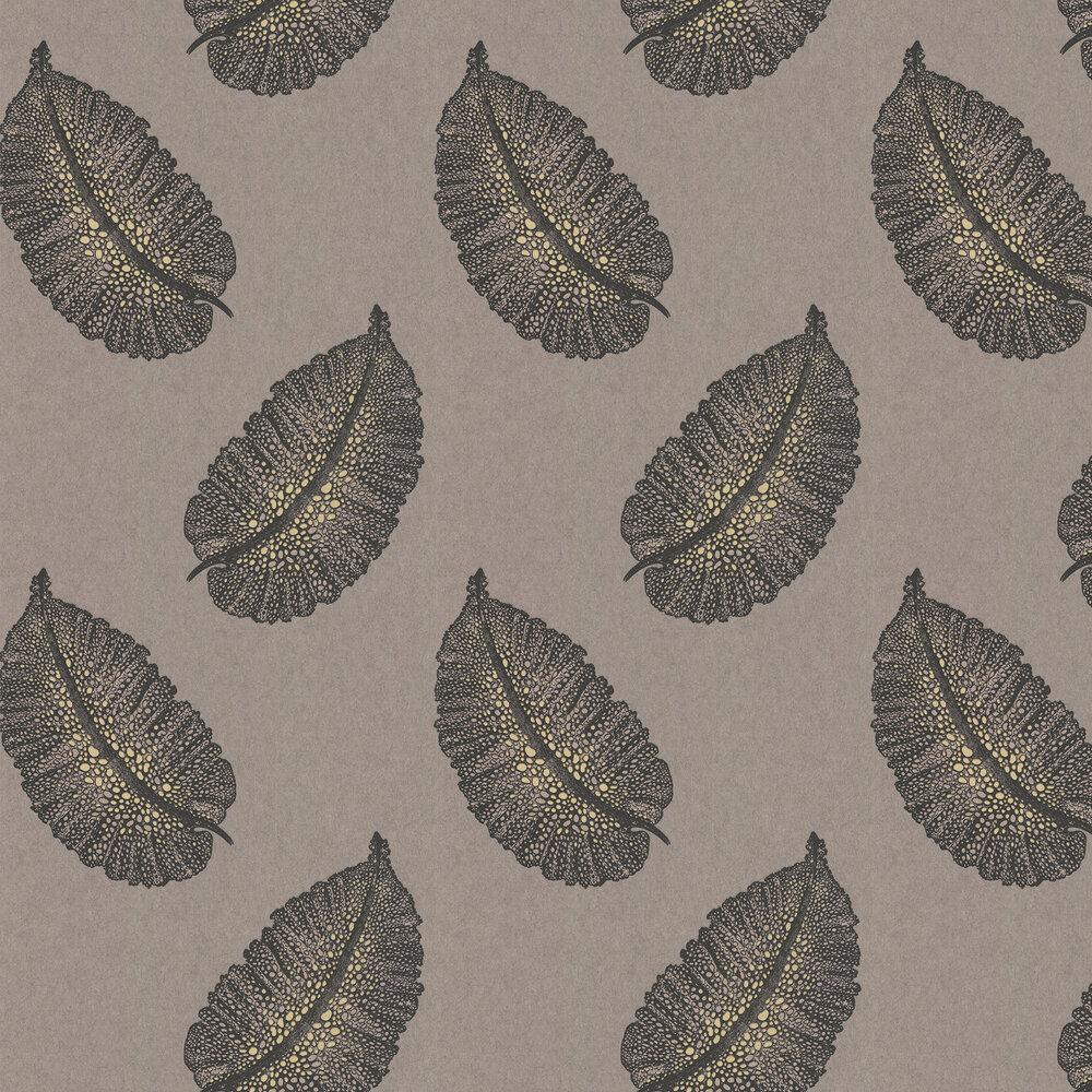 Paraggi Wallpaper - Brown - by Osborne & Little