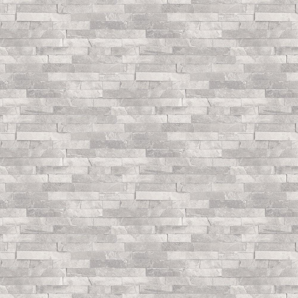 Diamond Slate Wallpaper - Dove Grey - by Arthouse