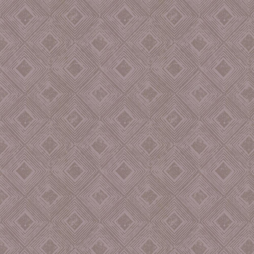 Symmetry Wallpaper - Rose Quartz - by Prestigious