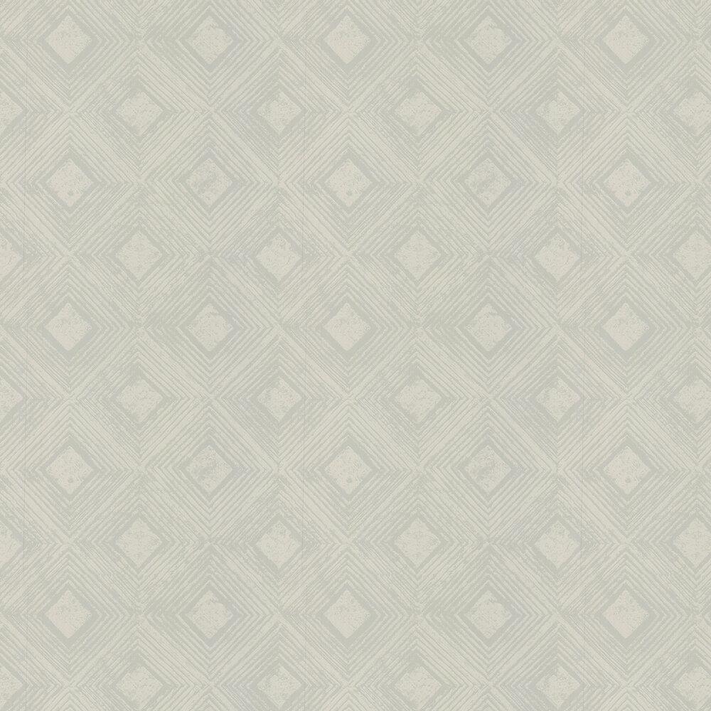 Symmetry Wallpaper - Robins Egg Blue - by Prestigious