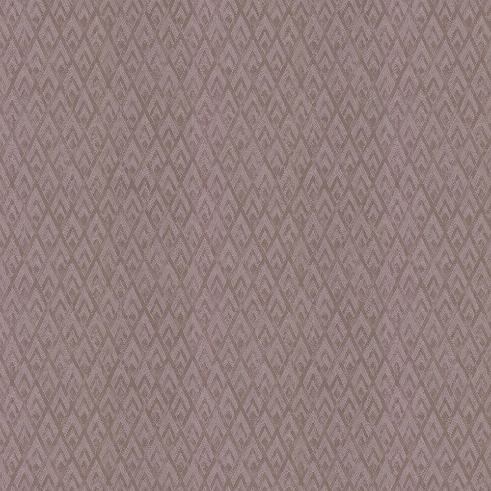 Facet Wallpaper - Rose Quartz - by Prestigious