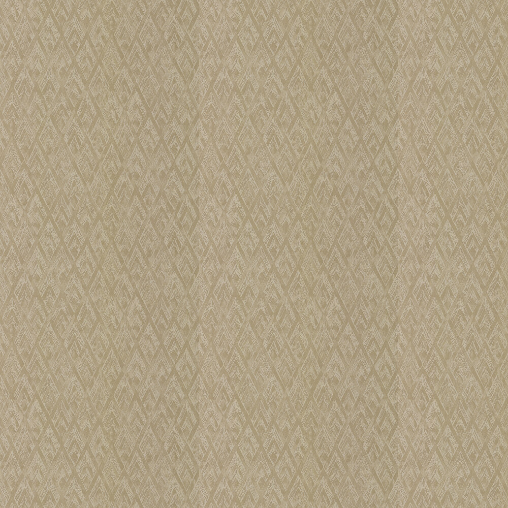 Facet Wallpaper - Burnished Gold - by Prestigious