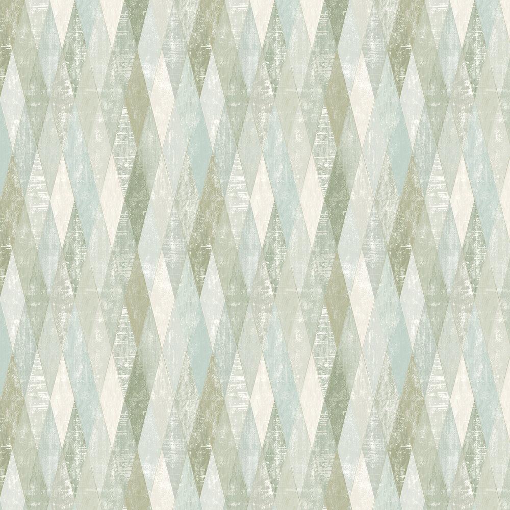 Elizabeth Ockford Fontwell Aqua Wallpaper - Product code: WP0130103